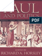 Hoorsley, R. A., Paul and Politic. Ekklesia, Israel, Imperium, Interpretation.pdf