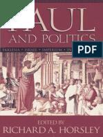 Hoorsley, R. A., Paul and Politic. Ekklesia, Israel, Imperium, Interpretation.pdf