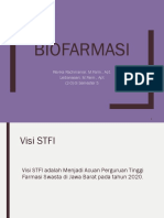 1. Biofar Pengertian Dan Ruang Lingkup Dan Tujuan Biofarmasi