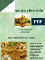 El Suelo Génesis y Formación