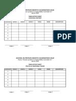 scoresheet nutrition2019
