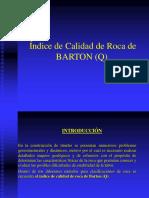 Indice de Calidad de Roca