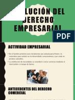 Evolución Del Derecho Empresarial