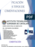 CLASIFICACION DE CIMENTACION.pptx