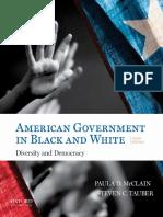 Paula Denice McClain_ Steven C. Tauber - American Government in Black and White_ Diversity and Democracy-Oxford University Press, USA (2017)