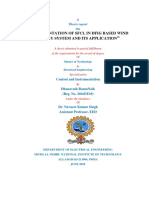 IMPLEMENTATION OF SFCL IN DFIG BASED WIND ENERGY SYSTEM AND ITS APPLICATION