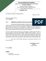 Daud Complaint Writing.docx