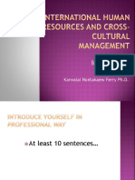 Seminars in Strategic Human Resources and Cross-Cultural Management-Intro-1