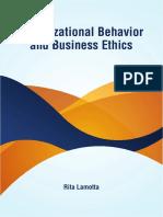 Organizational Behavior and Business Ethics