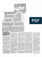 Peoples Tonight, Sept. 20, 2019 House will pass 2020 budget today.pdf
