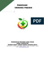 PANDUAN SKRINING PASIEN.doc