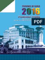 Iloilo Provincial Profile 2016