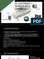 Sistemas Electricos y Electronicos del automovil