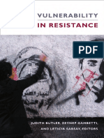 Judith Butler Vulnerability in Resistance 5