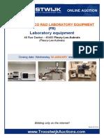 Laboratory Equipment 28088 Industrie Pharmaceutique, Chimique Et Cosmetique UK