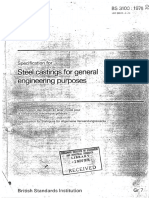 BS 3100- 1976 (Replaced by BS en 10293) Specification for Steel Castings for General Engineering Purpose