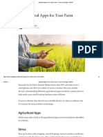 Agricultural Apps for Your Farm Business