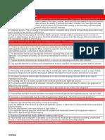Gap Analysis Compliance Questionaire Generic