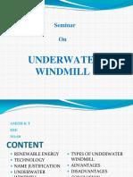 Under wind mill