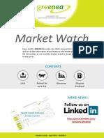 Greenea Market Watch April 2019