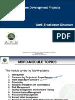 MSDP-03-Work Breakdown Structure-LV1.ppt