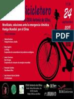 """En el Bicicletero del CRAI... Mesa Redonda """"Movilízate, ante la emergencia climática"""