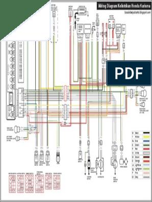 Wiring Diagram Kelistrikan Honda Karisma 125d Hd Sistem Pengapian Industri Otomotif