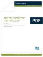 Dave Ulrich on Whats Next for HR
