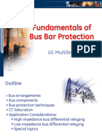 fundamentals of busbar protection
