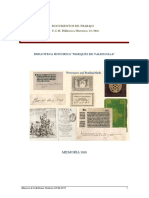 Memoria 2015 Biblioteca Histórica