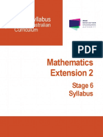 Mathematics Extension 2 Stage 6 Syllabus 2017 (1)