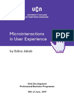 Microinteractions in User Experience