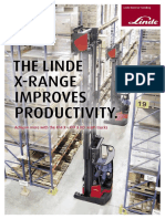 Linde X range brochure