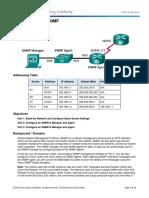 Configuring SNMP (1)