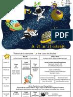 Programme vacances Octobre