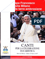 Canti Messa Papale M2017