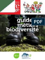 Le Guide Des Métiers de La Biodiversité