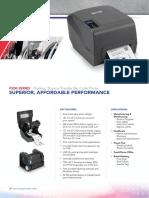 TSC Barcode Printer P200