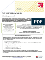 Body Awareness Factsheet