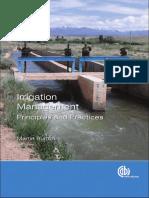 Martin Burton - Irrigation Management (2010)