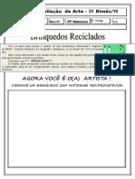ARTE 3 ANO.doc
