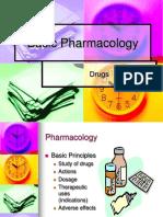 2011 Pharmacology Wk 1