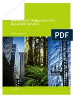 BSR Private Engagement With Ecosystem Services 2015