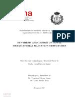 Elektriko Et Al. - 2017 - Synthesis and Design of Novel Metamaterial Radiation Structures