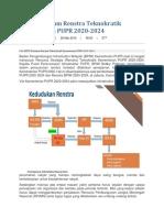 BPIW Pertajam Renstra Teknokratik Kementerian PUPR 2020 INFO
