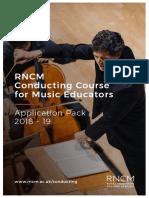 Conducting for educators