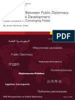 Intersections Between Public Diplomacy and International Development