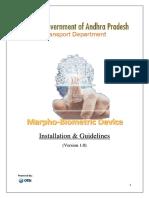 AP RTA-UM to Plugin Marpho Device