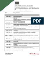 Agenda Curso Sobre Gestión y Control de Mercurio (1)