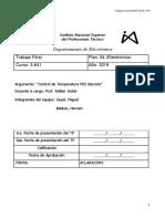 Controlador de Temperatura PID Discreto